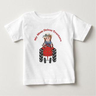 Meine Mamma fährt Traktoren Baby T-shirt