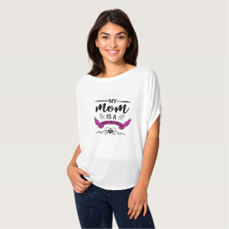 Meine Mamma ist ein Faser Krieger-flüssiges Shirt