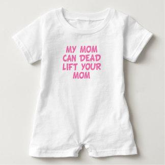 Meine Mamma kann toter Aufzug Ihre Mamma Baby Strampler