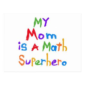Meine Mamma-Mathesuperhero-T - Shirts und Postkarten