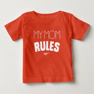 Meine Mamma-Regeln Baby T-shirt