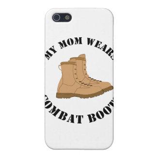 Meine Mamma trägt Kampf-Stiefel iPhone 5 Hülle