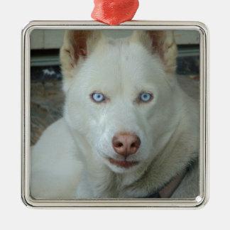 Meine Mona Lisa Augen Silbernes Ornament