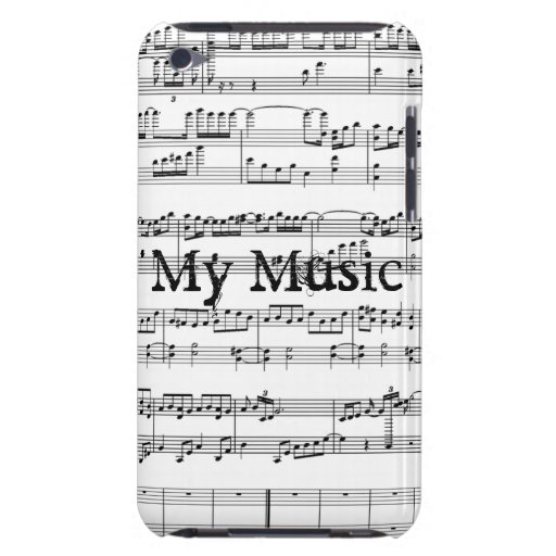 Meine Musik! Barely There iPod Cover