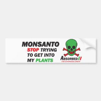 Meine Pflanzen Autoaufkleber