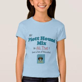 Meine Plott Jagdhund-Mischung ist alle das! T-Shirt