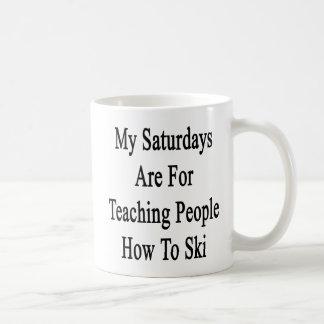 Meine Samstage sind für unterrichtende Leute, wie Kaffeetasse