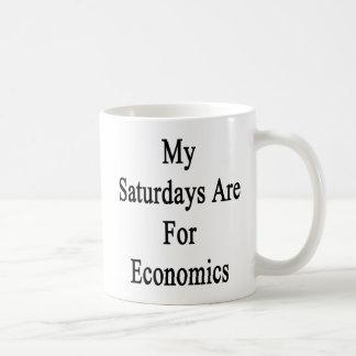 Meine Samstage sind für Wirtschaft Kaffeetasse