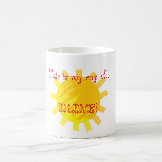 Meine Schale Sonnenschein! Tasse
