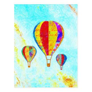 Meine schöne Ballonpostkarte Postkarte