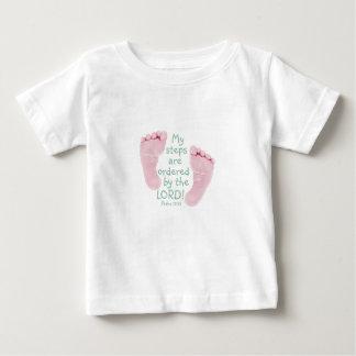 Meine Schritte werden vom Lord bestellt Baby T-shirt