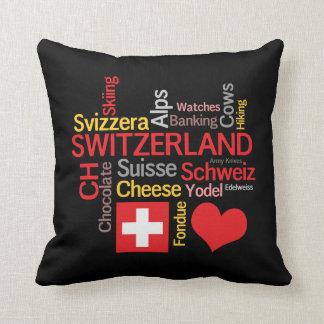 Meine Schweizer Lieblingssachen lustig Kissen