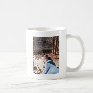 Meine Selfie Ansicht des Schießpulver-Flusses Kaffeetasse