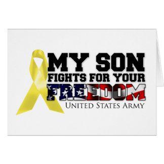 Meine Sohn-Kämpfe für Ihre Freiheit Karte