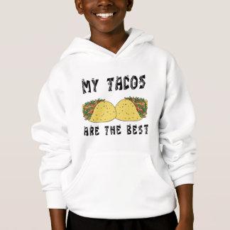 Meine Tacos sind das Beste Hoodie