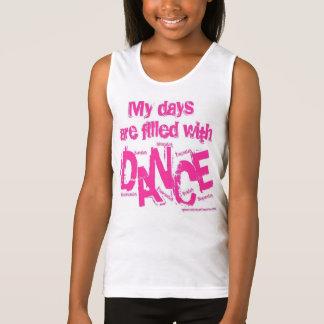 Meine Tage werden mit Tanz gefüllt Tanktop