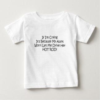 Meine Tante lässt mich nicht ihr frisiertes Auto Baby T-shirt