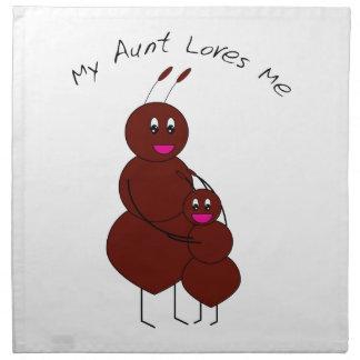 Meine Tante Loves Me Ant Napkin Serviette