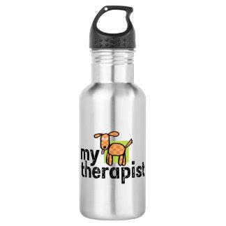 Meine Therapeut-HundeEdelstahl-Wasser-Flasche Trinkflaschen