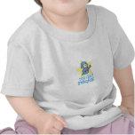 Meine Vati-Felsen - Baby mit Gitarre Shirt
