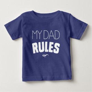 Meine Vati-Regeln Baby T-shirt