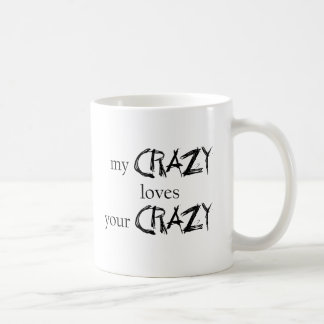 Meine verrückten Lieben Ihr verrücktes Kaffeetasse