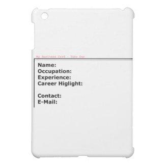 Meine Visitenkarte die MUSEUM Zazzle Geschenke Hülle Für iPad Mini