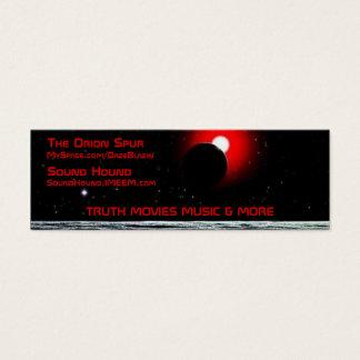 Meine Website Mini Visitenkarte