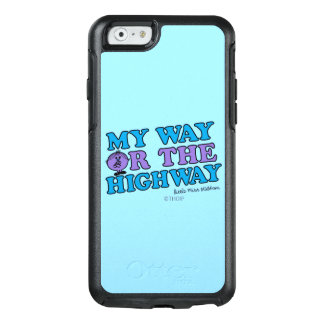 Meine Weise oder die Landstraße OtterBox iPhone 6/6s Hülle