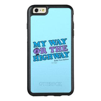 Meine Weise oder die Landstraße OtterBox iPhone 6/6s Plus Hülle