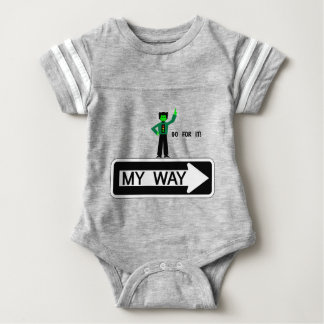 Meine Weise - streben Sie sie an! Baby Strampler
