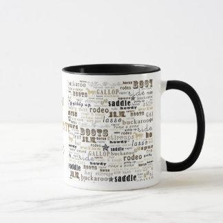 Meine Western-Thema-Kaffeetasse-Tasse Tasse