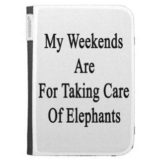 Meine Wochenenden sind für das Kümmern von  um