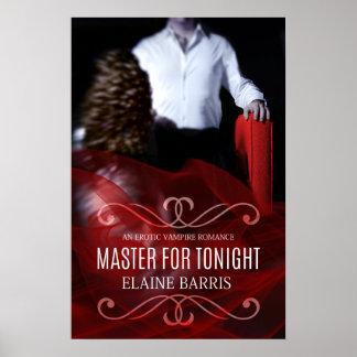 Meister für Nacht-Plakat Poster