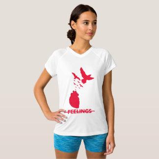 Meister-Gefühle Doppelt-Trockener V-Hals T - Shirt