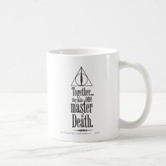 Meister Harry Potter-Bann-  des Todes Kaffeetasse