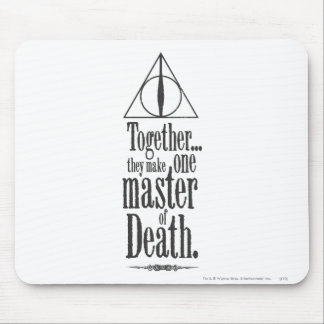Meister Harry Potter-Bann-| des Todes Mousepad