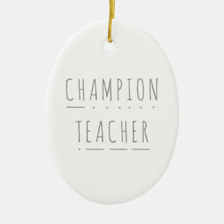 Meister-Lehrer-Keramik-Weihnachtsdekoration Keramik Ornament