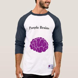 Meister-T - Shirt-lila Gehirne T-Shirt