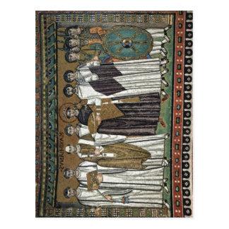 Meister von San Vitale in Ravenna Chormosaiken her Postkarten