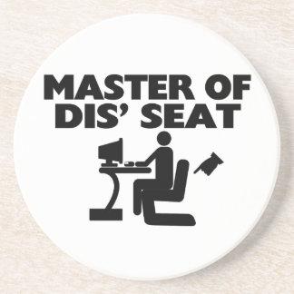 Meister von Seat-Computer DIS Getränkeuntersetzer