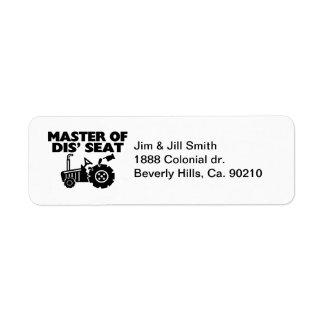 Meister von Seat-Traktor DIS
