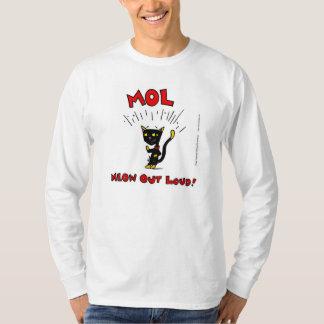 Mel Mol: MEOW HERAUS LOUD! T - Shirt die