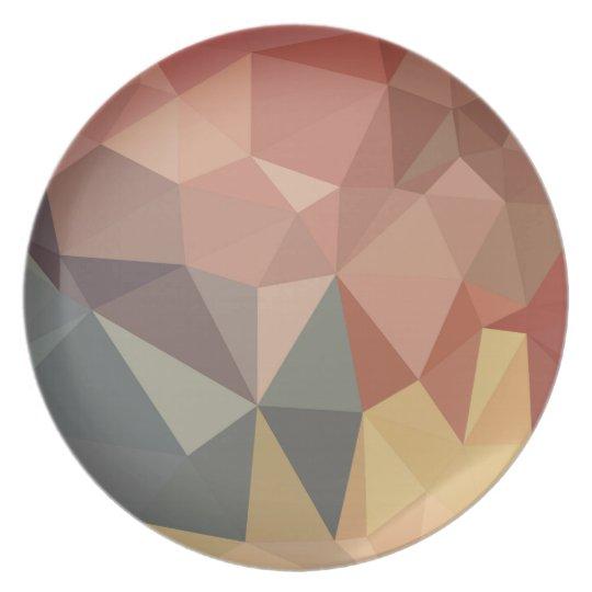 Melamin-Platte: VINTAGE Erdentwurfssammlung Melaminteller