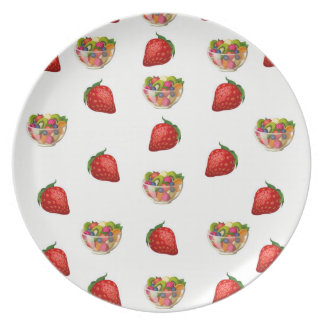 Melamin-Platten-Frucht Teller