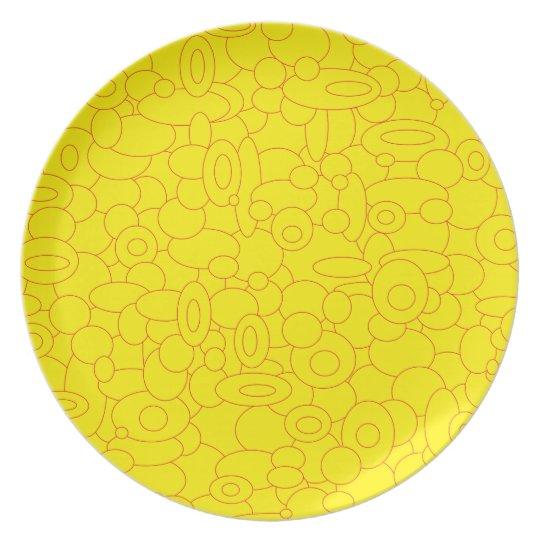 Melaminteller circles