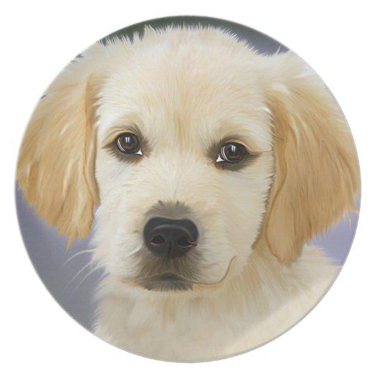 Melaminteller Paint-Doggi