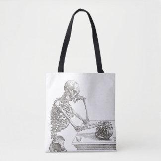 Melancholic Skeleton Tasche