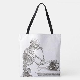 Melancholic Skeleton Taschen-Tasche Tasche