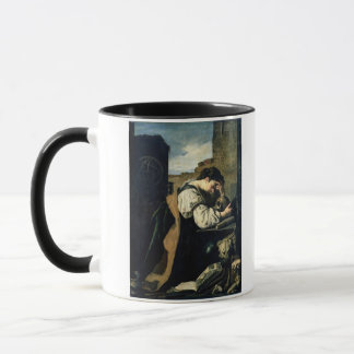 Melancholie (Öl auf Leinwand) Tasse